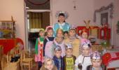 Дети 1 подготовительной группы «Солнышки» с удовольствием приняли участие в праздновании Рождества